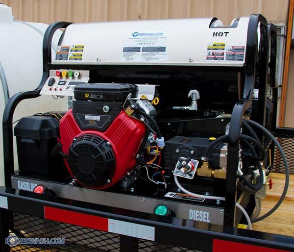 Best Quality Diesel Pressure Wash Rig