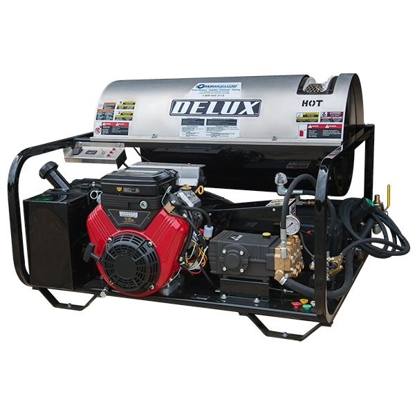 DELUX RK40-5030 SERIES GAS-POWERED HOT WATER PRESSURE WASHER