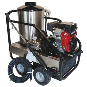 DELUX RK-47 Series Gas-Powered Hot Water Pressure Washer